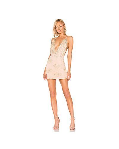 Платье мини облегающее с вышивкой By The Way.