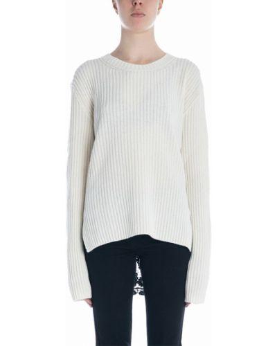 Biały sweter koronkowy Ann Demeulemeester