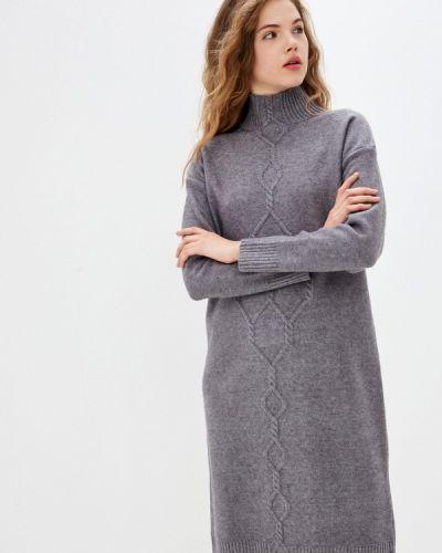 Серое платье-свитер Vilatte