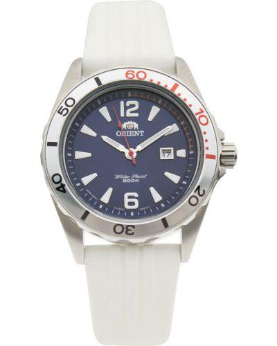 Кварцевые часы водонепроницаемые с подсветкой Orient