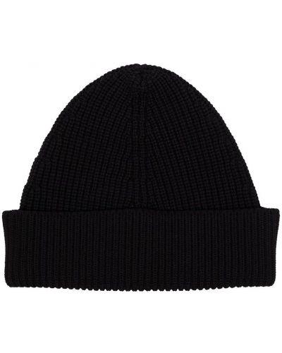 Черная шапка классическая Maison Margiela