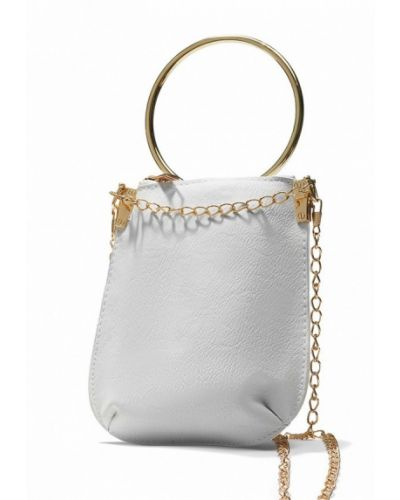 Белая кожаный сумка Nothing But Love