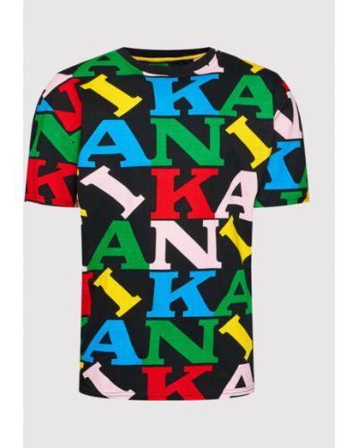 Czarna t-shirt vintage Karl Kani
