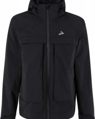 Свободная черная куртка на молнии Demix