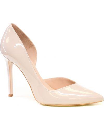 Кожаные туфли - бежевые Bravo Moda