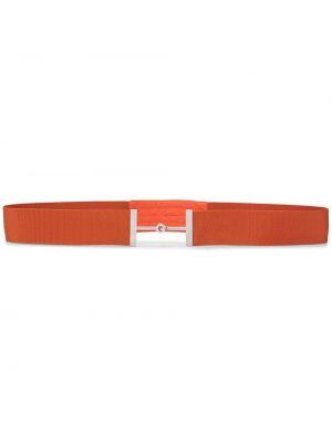 Оранжевый ремень с пряжкой Hermès Pre-owned