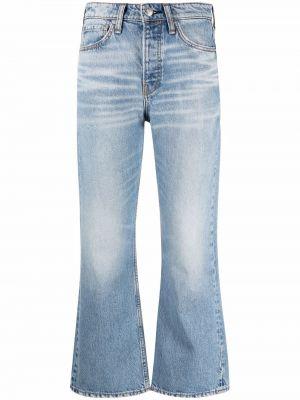 Klasyczne mom jeans - niebieskie Rag & Bone