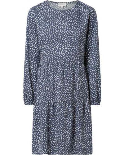 Niebieska sukienka z wiskozy Armedangels