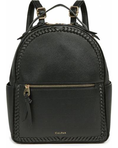 Czarny plecak skórzany Calpak