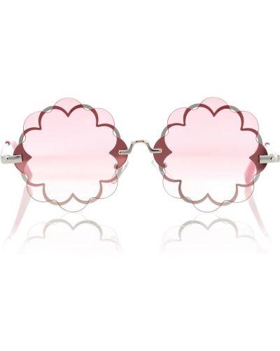 Różowy okulary przeciwsłoneczne Monnalisa