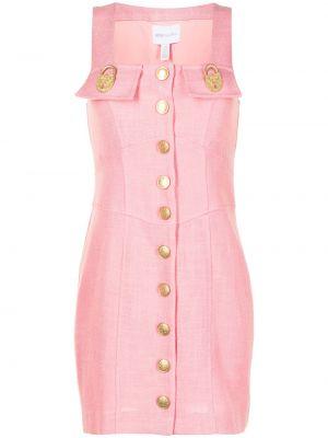 Золотистое розовое платье мини с подкладкой Alice Mccall