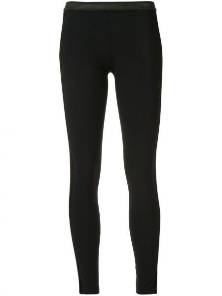 Черные брюки с поясом Kru