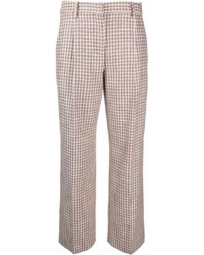 Свободные шелковые брюки свободного кроя Lardini