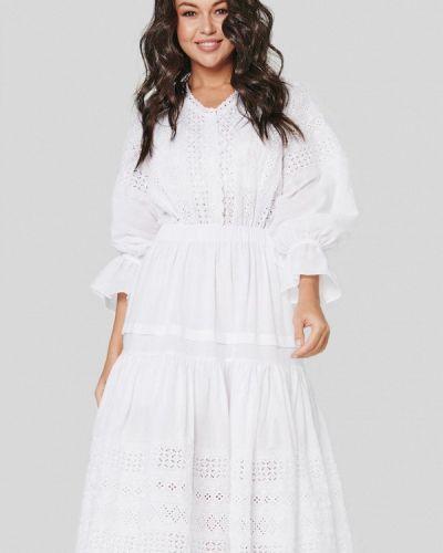 Белое платье Jolifashn