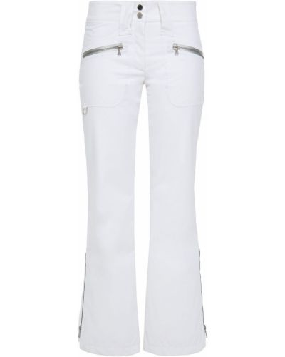 Białe spodnie rozkloszowane Erin Snow