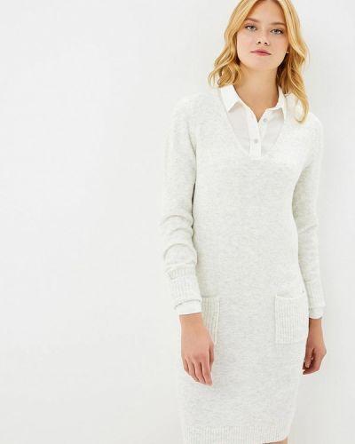 Платье осеннее оливковый S.oliver