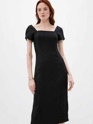 Черное платье футляр Emporio Armani
