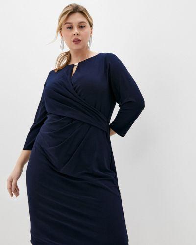 Повседневное синее платье Lauren Ralph Lauren Woman
