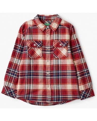 Красная рубашка United Colors Of Benetton