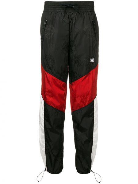 Spodni czarny sportowe spodnie z kieszeniami z mankietami Alexander Wang