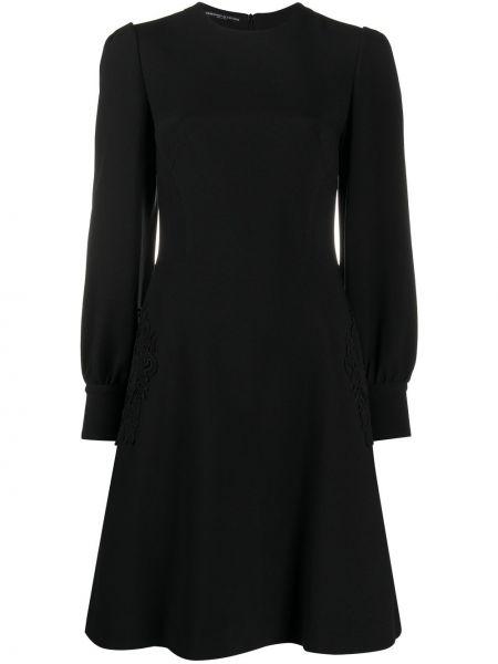 Ажурное платье мини на пуговицах с манжетами с вырезом Ermanno Scervino