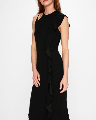 Платье миди прямое с оборками Silvian Heach