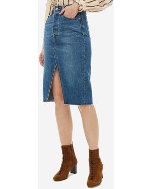 Джинсовая юбка пачка синяя Levi's®