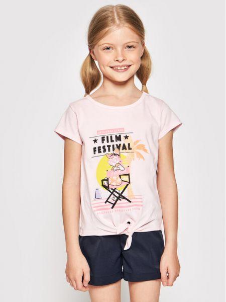 Różowa t-shirt Billieblush