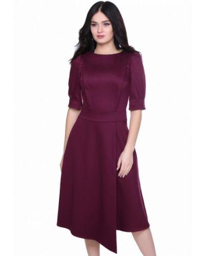 Фиолетовое деловое платье Grey Cat