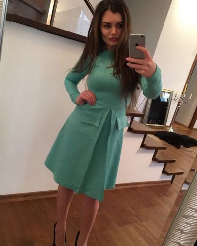 Платье мятный Lacywear