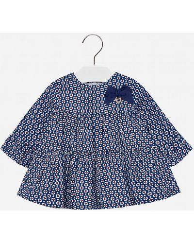 Платье с рукавами темно-синий синий Mayoral