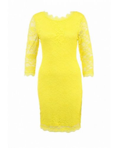 Вечернее платье желтый Ad Lib