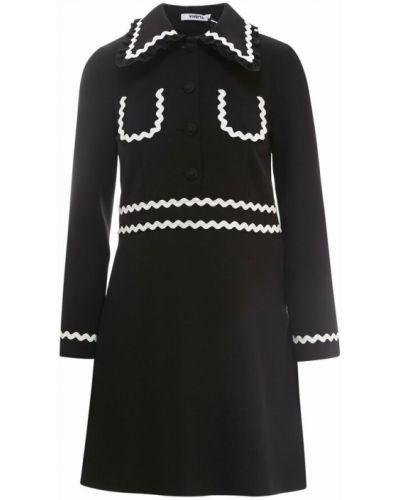 Czarna sukienka Vivetta