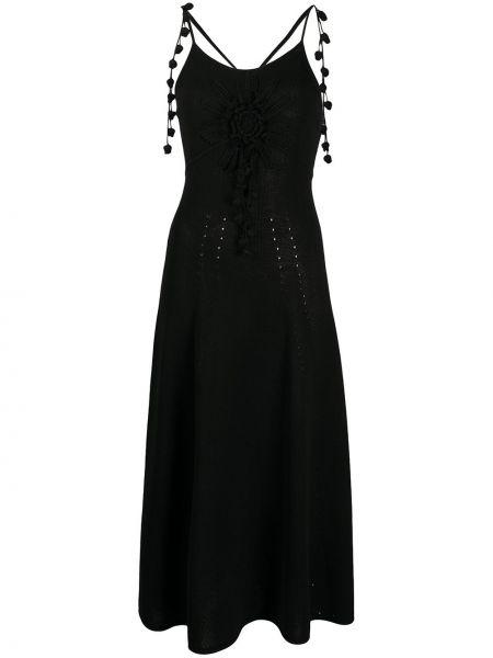 Платье на бретелях с V-образным вырезом Loewe