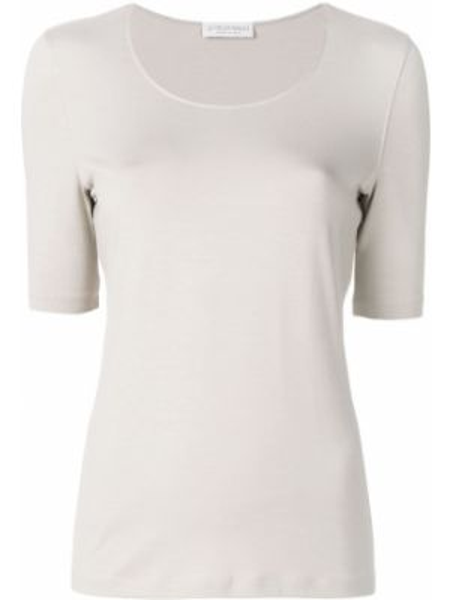 Базовая футболка - серая Le Tricot Perugia