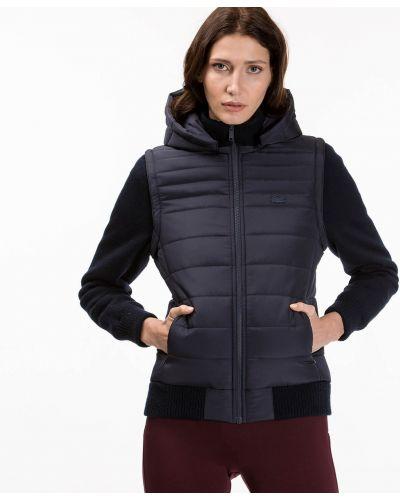 Куртка на резинке шерстяная Lacoste