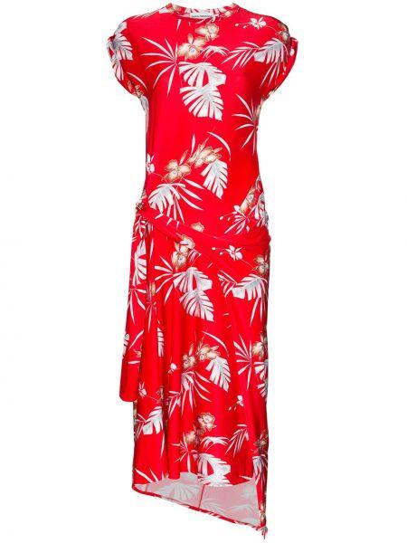 Платье мини миди со вставками Paco Rabanne
