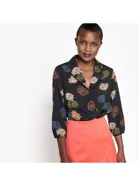 Блузка боди с V-образным вырезом La Redoute Collections