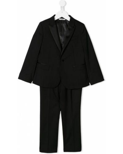 Костюм классический черный Dolce & Gabbana Kids