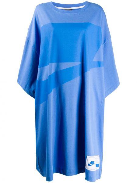 Платье мини миди футболка Nike