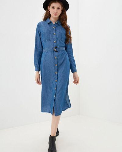Синее платье Springfield