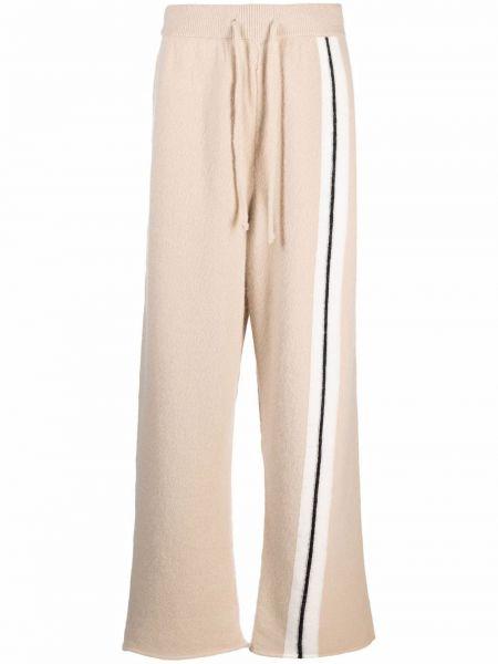 Spodnie wełniane - beżowe Palm Angels