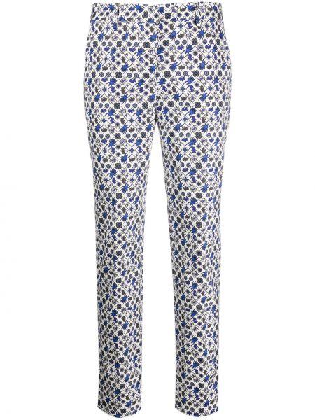 Прямые белые брюки с карманами Paul Smith