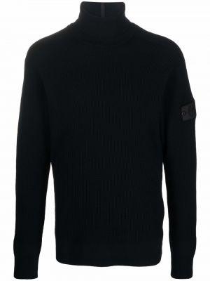 Шерстяной свитер - черный Stone Island Shadow Project