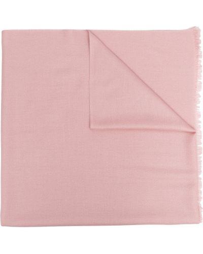 Kaszmir światło różowy etola frędzlami N.peal