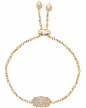 Złota bransoletka ze złota pozłacana Kendra Scott