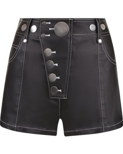Джинсовые шорты короткие хлопковые Alexander Wang
