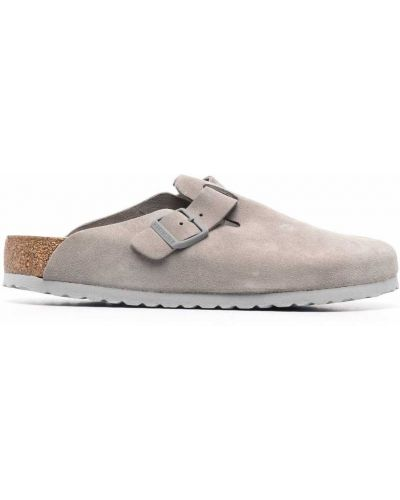 Серые сандалии с пряжкой Birkenstock