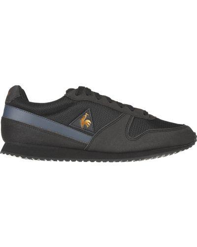 Кожаные кроссовки - черные Le Coq Sportif