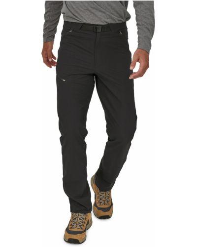Czarne spodnie casual Patagonia